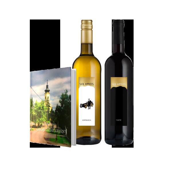 Könyv és bor csomag 1.